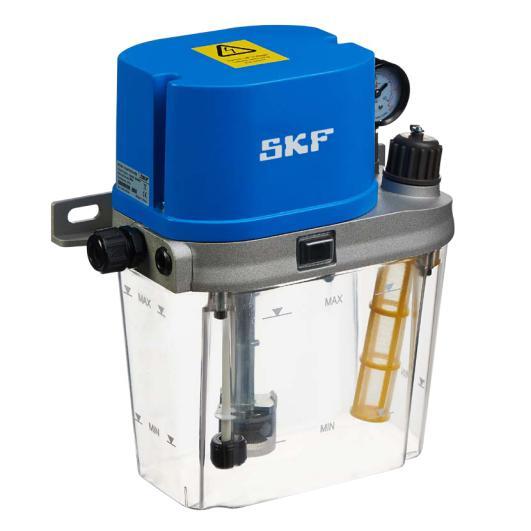 SKF可用于稀油及流体脂的电动龙8国际官网泵 MCU